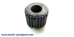 1) SM 102 Pincer Bar Gear Pinned Long Type 46mm
