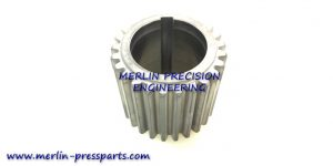 2) SM 102 Pincer Bar Gear Keyway Long Type 46mm