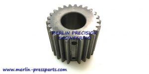 3) SM 102 Pincer Bar Gear Pinned Type Short Type 43mm Long