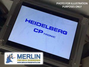 MERLIN PRESS PARTS Heidelberg CP Tronic screens, Heidelberg LCD Displays1